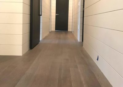 Hallway Floor Installation - Porcayo Cosntruction